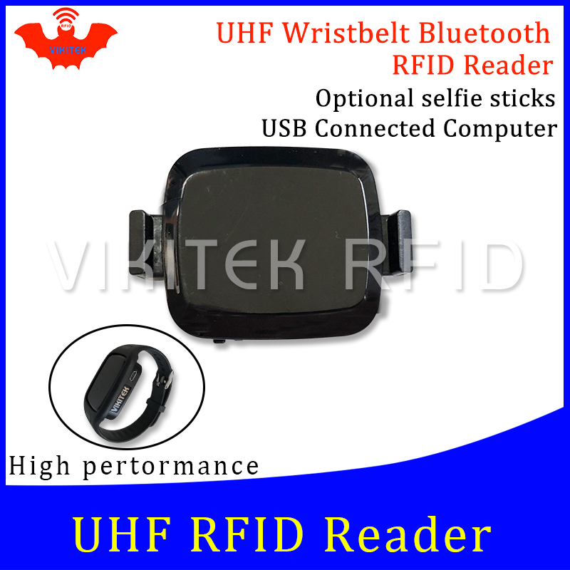UHF RFID Reader Pocket Portable Mini Watch Reader Bluetooth Connect Mobile Phone Easy Use Small Usb Android Chip Writer Copier