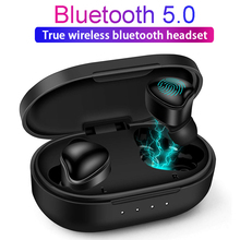 Bluetooth Wireless Earphones With Microphone True TWS Headset Sweat-Proof Wireless Sport Earbuds With Charging Box цена и фото