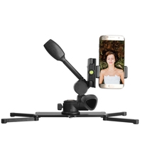 Camera Tripod Monopod Head Table Base Plate Camera Stabilizer 1/4 Screw Multi function for Cell phone Live Equipment