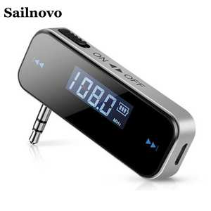 10 m Auto Accessories Car FM Transmitter Durable Multi-function 3.5 AUX Car Handsfree