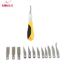 KD9305 Sugar Art Carving,Carving Knife,Stainless Steel Kitchen Carving Knife,Sugar Tool,Clay Shape Open Eye Knife
