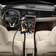 Car Floor Seat Flexible Gooseneck Mount Holder for iPad Automobile Support Brack