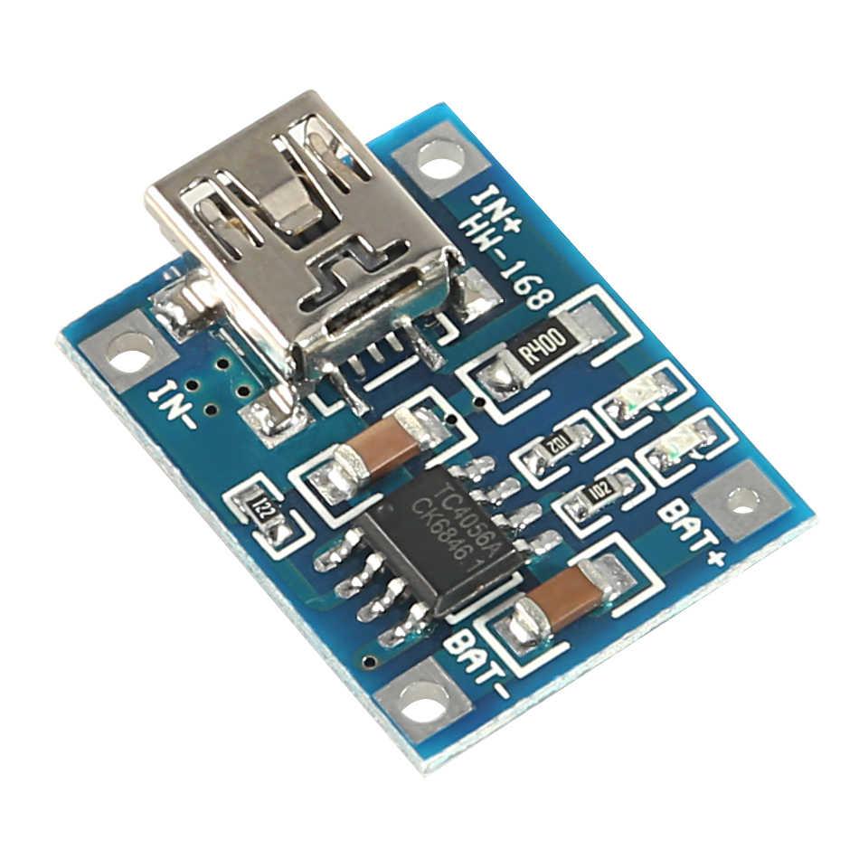 TP4506 Lithium Battery Charger Đun MINI USB 5 V 1A TP4056 Sạc Hội Đồng Quản Trị Với Bảo Vệ Kép Chức Năng 1A TC4056