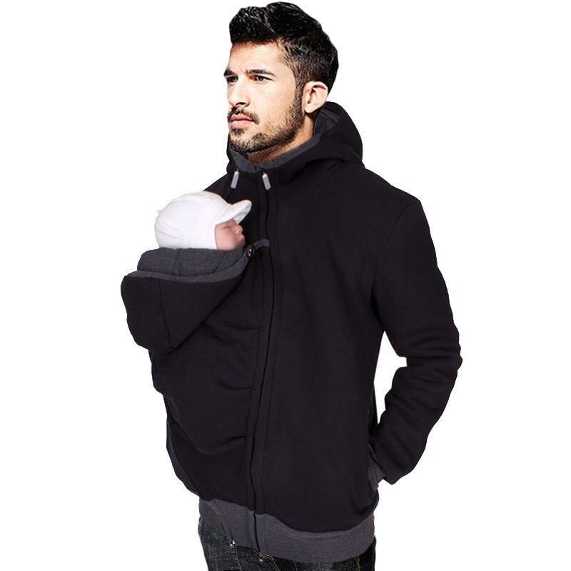 Babywearing Coat Multifunctional Kangaroo Baby Carrier Jacket Carrying Mens Womens Coat Maternity Apparel Fashion Unisex