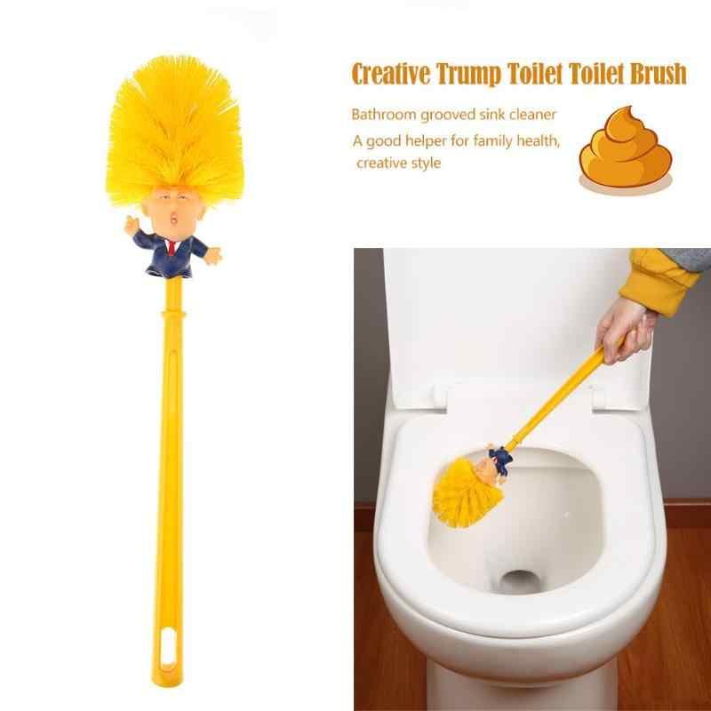 Creative Bath Trump Toilet Brush Nightstool Groove Sink Trench Clean Tool Bath Nightstool Groove Clean Tools Home Toilet Brush