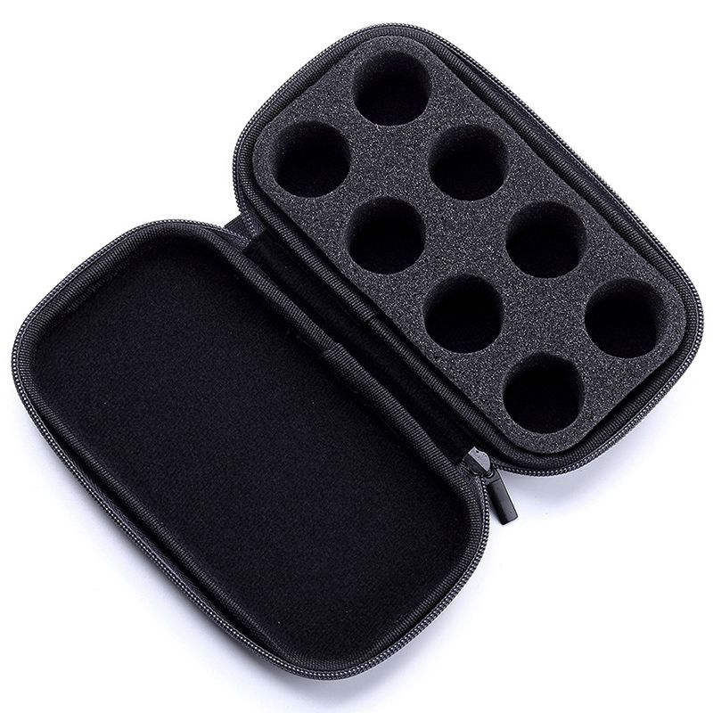 Portable Carry Case Compatible Coffee Capsules Eva Hard Shell Protective Storage Holder Bag For Travel Match