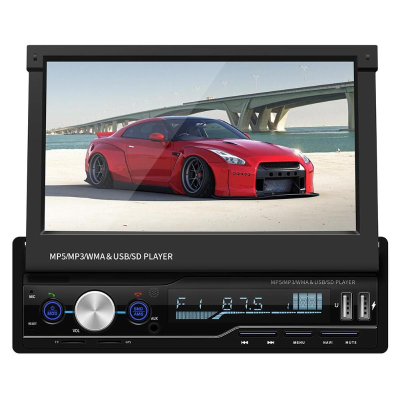 Universal 7 Inch 1DIN Car DVD Player Android Car Stereo MP5 Player GPS Navi RDS FM