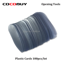 100pcs Plastic Separating Card For Mobile Phone Glass / Frame Screen Opening Repair Tools iPhone Samsung