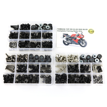 For Yamaha YZF-R6 R6 2003-2005 R6S 2006-2009 Motorcycle Complete Full Fairing Bolts Kit Clips Nuts Steel OEM Style free customize fairing kit fit for yamaha r6 2003 2004 2005 yellow matte black yzf r6 fairings set 03 04 05 156
