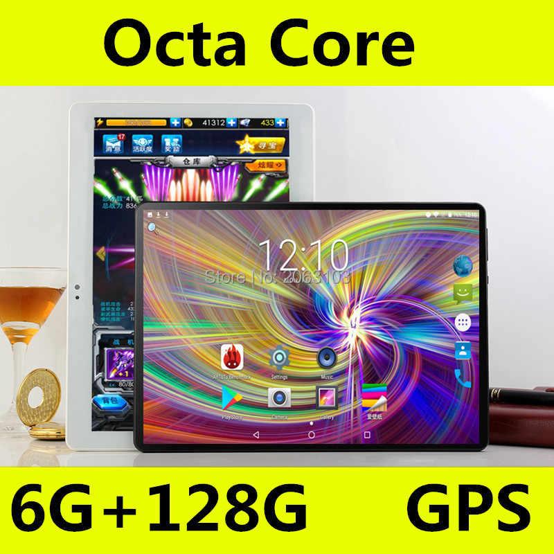 أندرويد من جوجل 8.0 10 بوصة اللوحي ثماني النواة 3G 4G FDD LTE لوحة الكمبيوتر 6GB RAM 64GB ROM 1280x800 IPS HD ميديا الوسادة 10