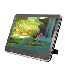 Universal 10.1 Inch Ultra-thin Car Headrest Monitor 1366*768 HD MP5 Player TFT Screen Touch Button with USB/SD/HDMI Slot free shipping new 11 6 inch tablet pc tft lcd screen hn116wx1 101 wxga 1366 rgb 768 with 30 pins