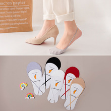 1Pair Cotton Half Insoles Pads Foot Care Insoles Forefoot Pain Relief Massaging