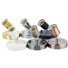 Universal Head Lamp Base 180 Degree Steering Wall E27  Vintage Simple Iron Dining Room