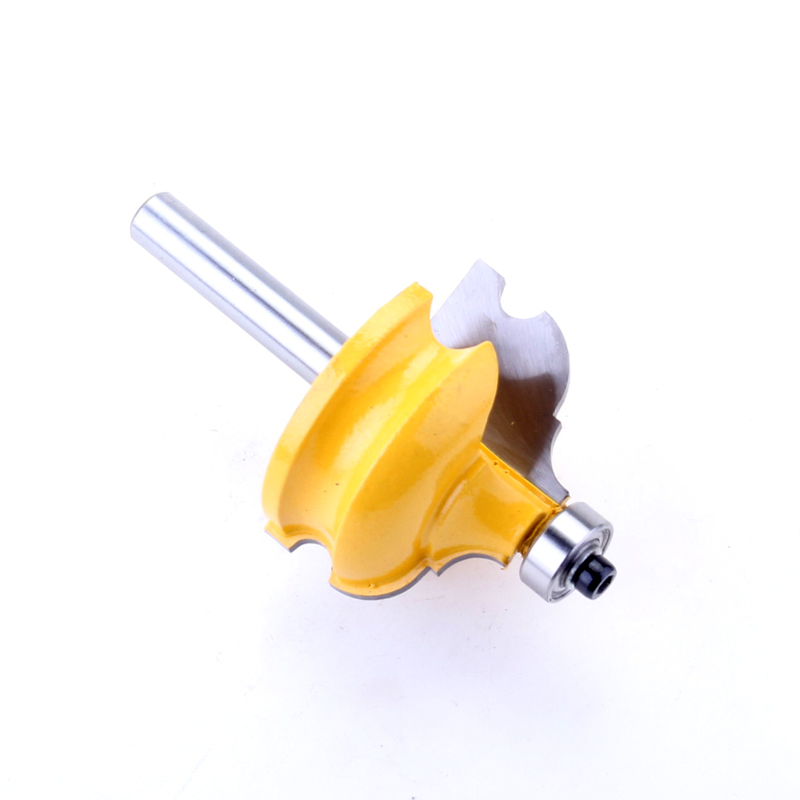 Image 5 - 1PC 8mm Shank Classical & Bead Molding & Edging Router Bit   Tenon Cutter for Woodworking Tools   CHWJW  16127_8-in Milling Cutter from Tools