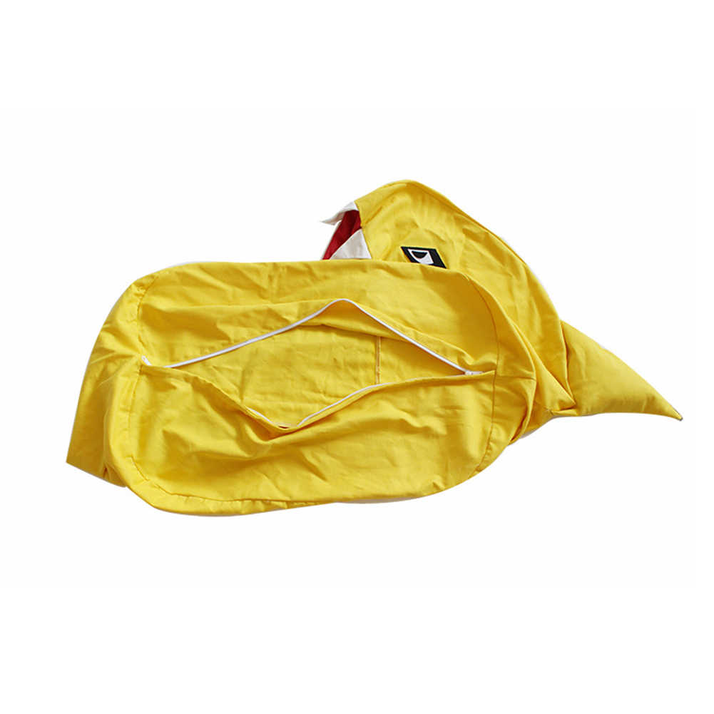 جديد الإبداعية الاطفال لعبة حقيبة التخزين شكل القرش أفخم الأطفال لعبة المنظم تخزين الموضة محشوة الحيوان كرسي هدية حفلة
