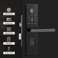 Electronic Fingerprint Door Lock Home Anti theft Lock Fingerprint Verification Intelligent Lock With Password For Hotels