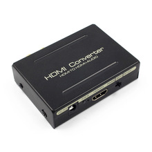 HDMI to HDMI Audio Splitter Optical SPDIF+RCA L/R Extractor Converter 1080P HDMI Audio Extractor Adapter For DVD HDTV цена и фото