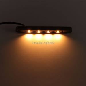 Image 3 - 12 V AC DC Laagspanning Outdoor LED Landschap Verlichting Hardscape Stap Dek Keermuur Licht Led Licht Bar Montage beugel