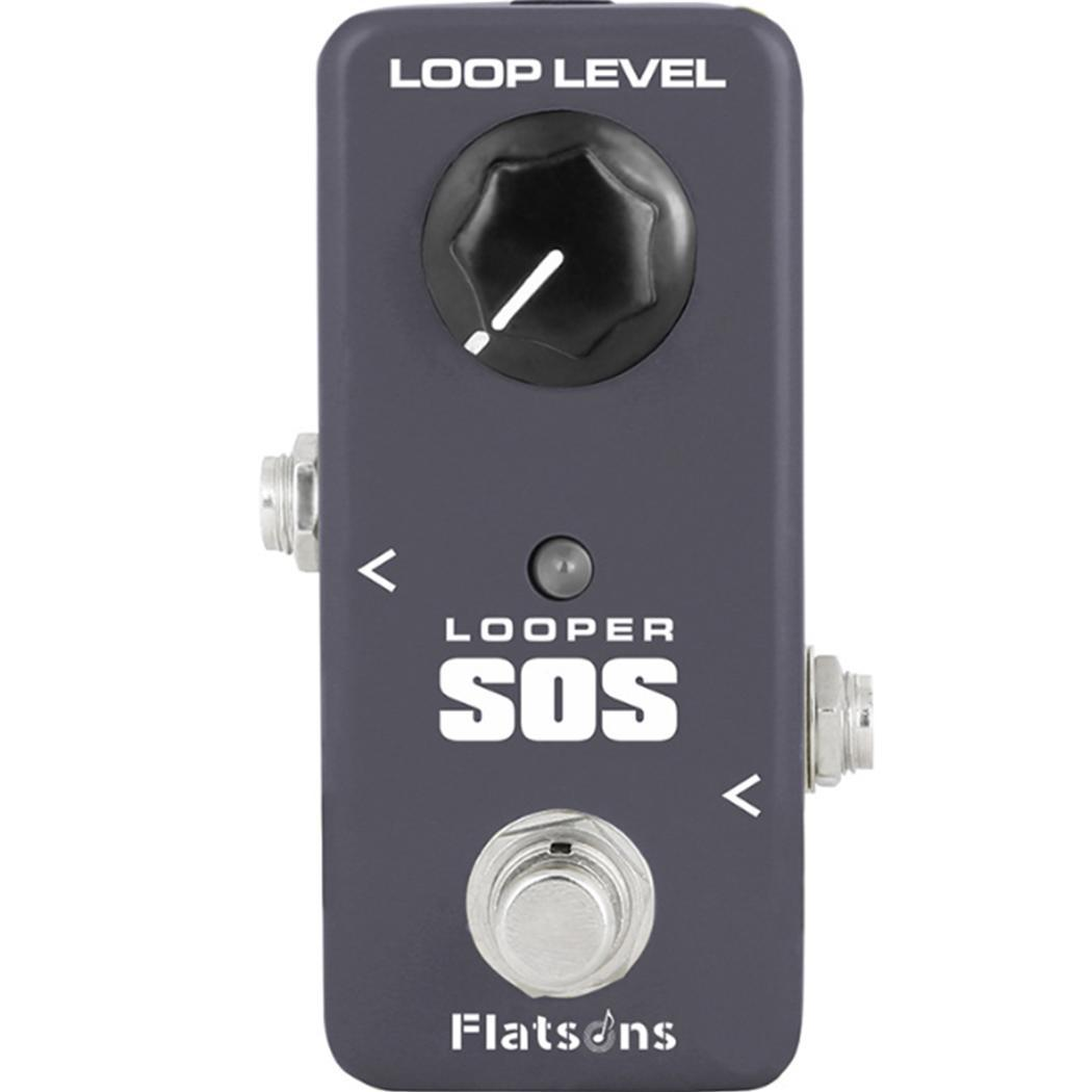KOKKO FLP2 Portable Mini Looper SOS 10 K Ohms Carré Effet 1 M Ohms Guitare pédale guitare adaptateur dc Accessoires