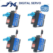4pcs Waterproof Metal Gear JX DC5821LV 20KG Large Torque Digital Coreless Servo for RC Car TRAXXAS Crawler TRX4 baja boat robot цена и фото