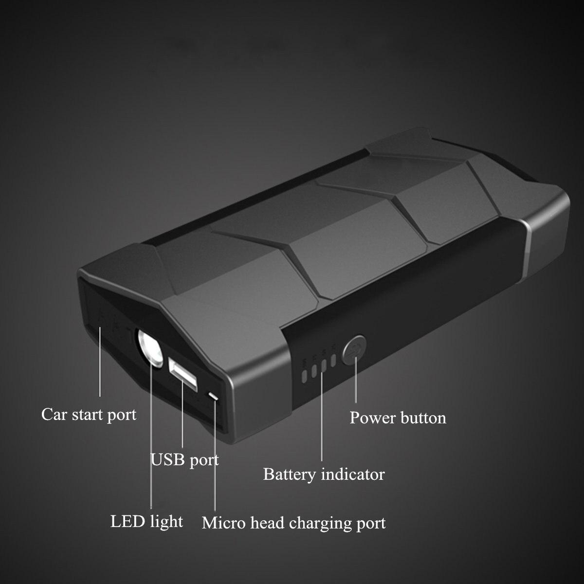 Haute Capacité 68800 mAh Voiture Saut Starte 400A 12 V Portable batterie externe De Voiture Démarreur pour la voiture amplificateur de batterie Chargeur Dispositif de Démarrage - 5