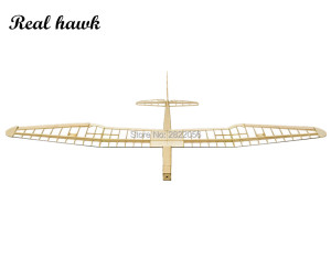 Image 3 - RC Plane Laser Cut Balsa Wood Airplanes sunbird 2017 motor glider Wingspan 1600mm Balsa Wood Model Building Kit
