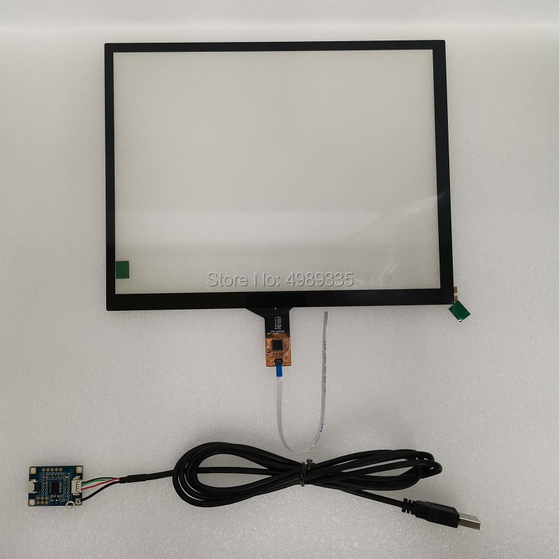 9.7 Inch Capacitive Touch Screen IIC I2C USB Dual Interface For Android Linux Win7 8 10 System Plug And Play