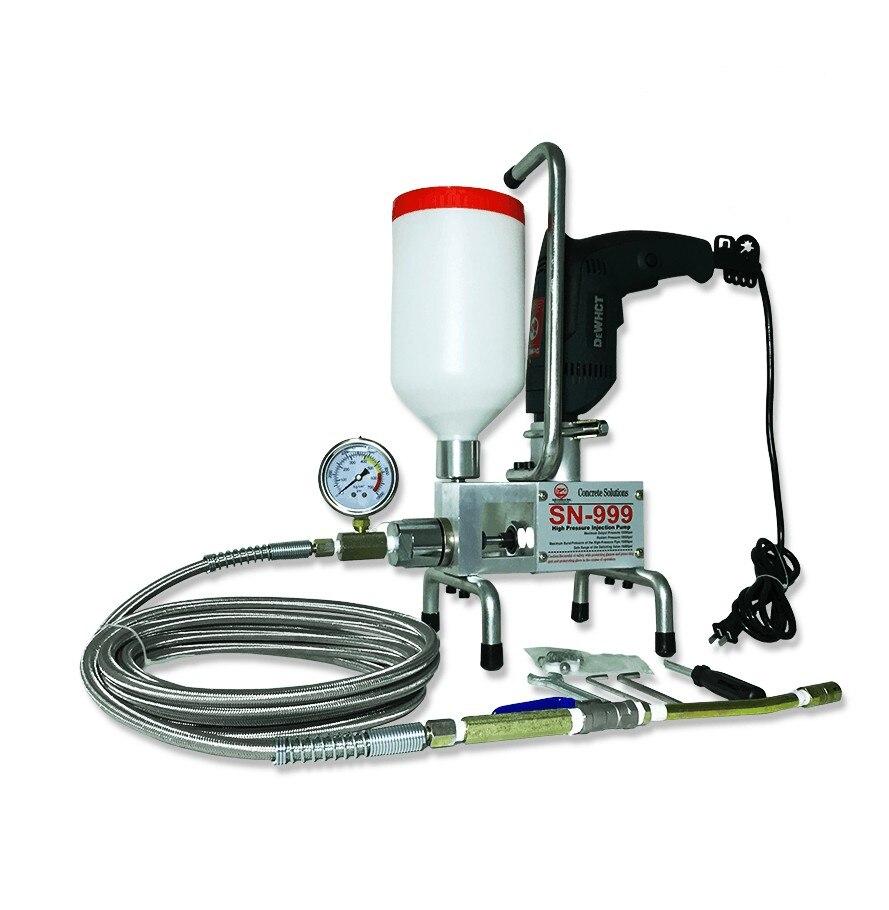 Затирочная машина водостойкая эпоксидная/полиуретановая пена насос для впрыска бетона ремонт трещин ремонт водонепроницаемый