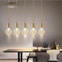 Rund Glas Einfache Anhänger licht Moderne Mode Weißen Lampen Für Esszimmer Restaurant Schlafzimmer Wohnzimmer Form LED-in Kronleuchter aus Licht & Beleuchtung bei