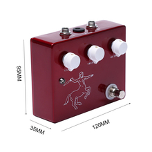 Electric Guitar Overdrive Effect Pedal Footswitch Handmade Klon Over Drive Pedals For Guitar Lover biyang x drive overdrive guitar effect pedal stompbox for electric guitar chipset changeable to create diffenet tone od 8