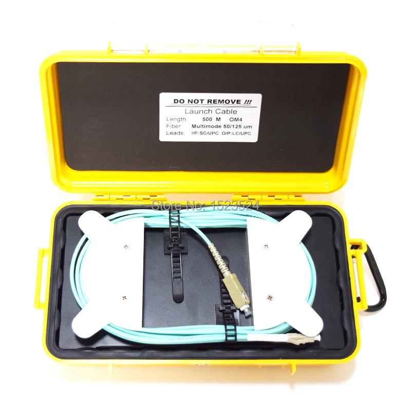 OTDR Dead Zone Eliminator Fiber Rings Fiber Optic OTDR Launch Cable Box MM OM4 500M