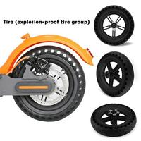 Electric Scooter Tires Solid Tire For Xiaomi Mi Electric Scooter 8.5 Inches Scooter Wheel's Replacement Shock Absorption Tire