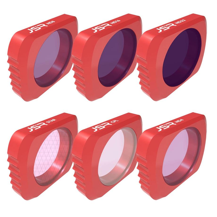 Opcional DJI OSMO bolsillo UV CPL ND4/8/16/32/64 filtro estrella lente de la Cámara filtro kit Set para DJI OSMO bolsillo lente Accesorios