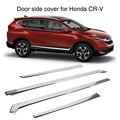 4x крышка боковой линии двери автомобиля для Honda CR-V CRV 2017 2018 2019 внешняя хромированная формовочная накладка
