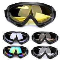 Lunettes de Ski en plein air Sports de patinage coupe-vent et antipoussière équitation lunettes fournitures de plein air