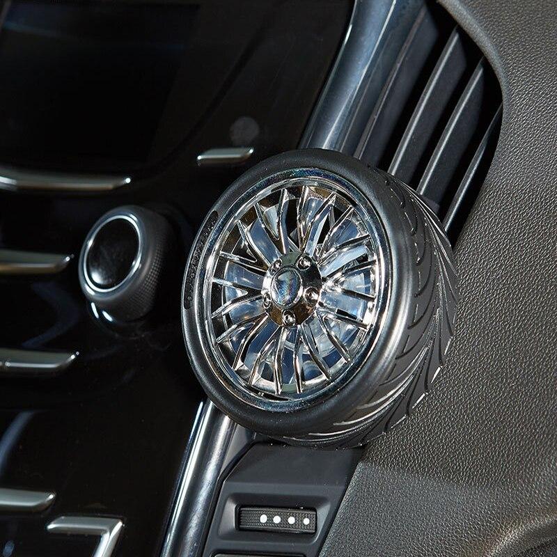 Tire Gift Car Perfume Car Air Conditioning Air Outlet Perfume Tire Shape Rotating Car Perfume
