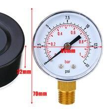Новинка 1/4 года измеритель низкого давления bspt внешний манометр