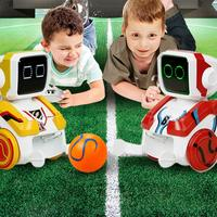 Kicking Robot Puzzle Electric Interactive Remote Control Intelligent For Children Boys And Girls 2PCS