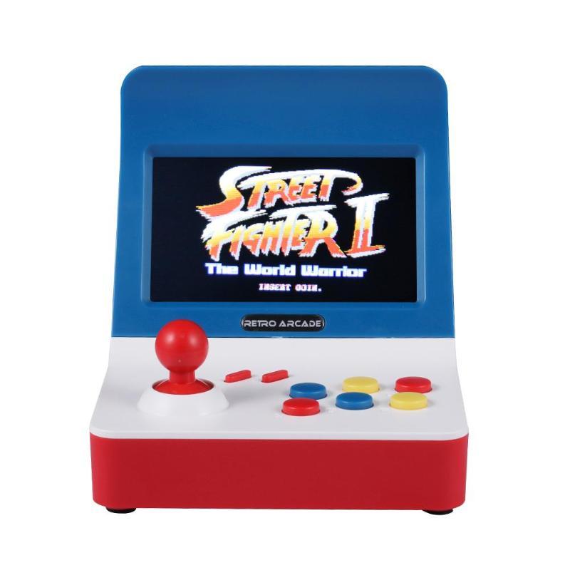 GRAINE D'alliage Rétro Jeu Console A8 Machine De Jeu intégré 3000 Jeux Gamepad Pour Arcade POUR CP1/CP2/GBA/ SFC/MD/GBC/GO Simulator