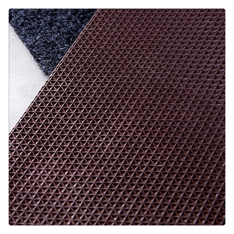 Welcome Front Door Mat Entrance Doormat 40x60cm Polyester Waterproof TPR Anti Slip Hallway Floor Mat Durable