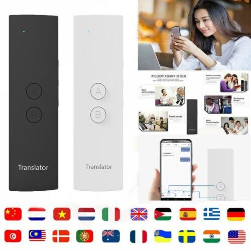 T6 Fácil Trans Inteligente Idioma Tradutor Instantâneo do Discurso da Voz BT 28 Tradutor Idiomas + APP Quente