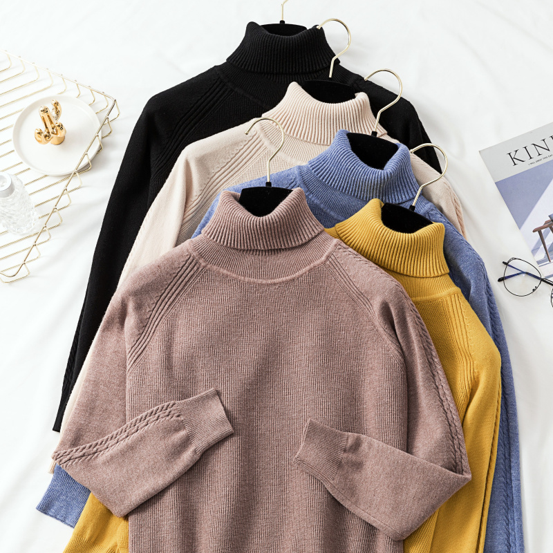 Banulin Sweater Female 2019 Autumn Winter Cashmere Knitted Women Sweater And Pullover Female Tricot Jersey Jumper Pull Femme