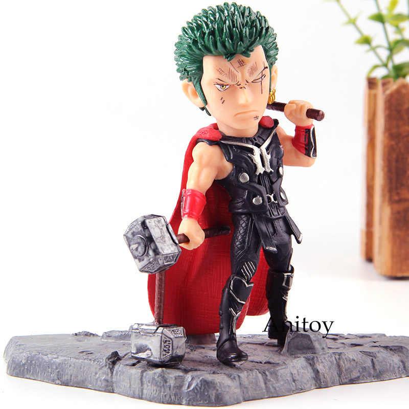 One Piece Action Figure Katana Roronoa Zoro Cosplay Avengers Thor PVC Collection Modello Giocattoli