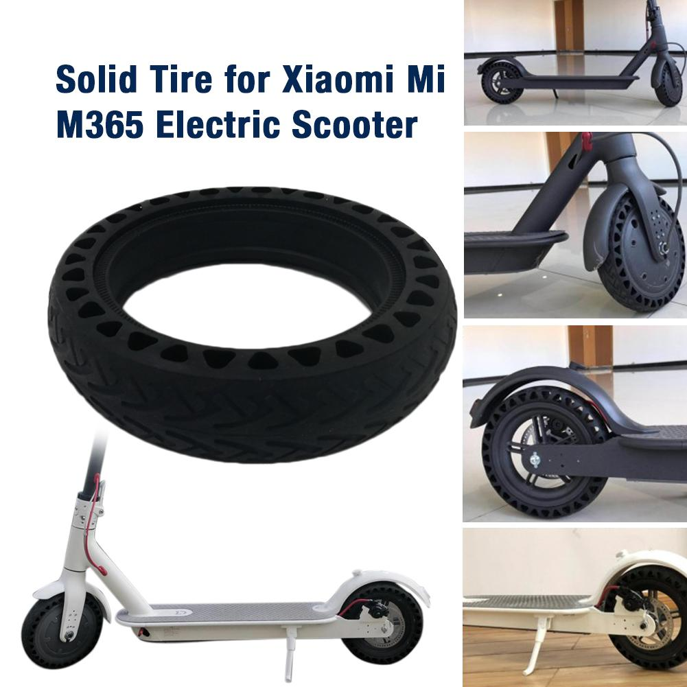 Solid Tire Tubeless Drilled Scooter Replacement Tire For Xiaomi M365 Electric Scooter 8.5 Inches Solid Tire Electric Scooter-in Skate Board from Sports & Entertainment