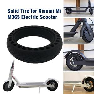 Image 1 - Solid Tire Tubeless Drilled Scooter Replacement Tire For Xiaomi M365 Electric Scooter 8.5 Inches Solid Tire Electric Scooter