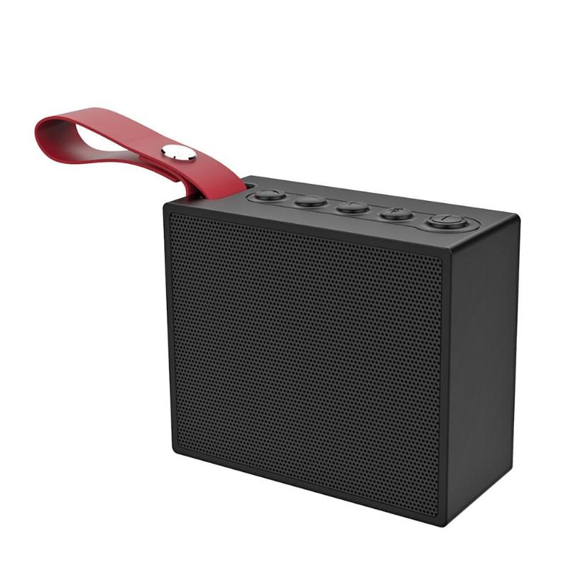 X9 Wireless Bluetooth Speaker Waterproof Voice Control Square Sound Box Speakers 5W IP6 Music Player Loudspeaker