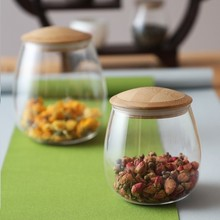 Creative Mason Jar Spices Borosilica Glass Jars With Lid Sealed Kitchen Storage Bottle Coffee Sugar Bulk Container Candy Cans