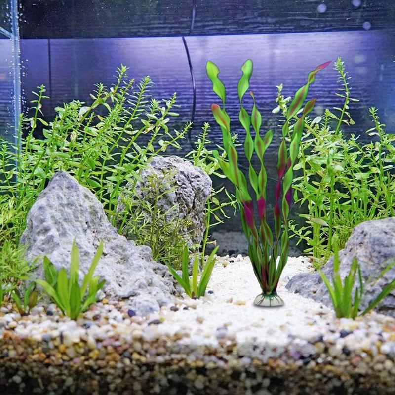 Artificial Fake Landscaping Plant Ornamental Simulation Grass For Fish Tank Aquarium Flower Home Garden Decor Wedding Decoration