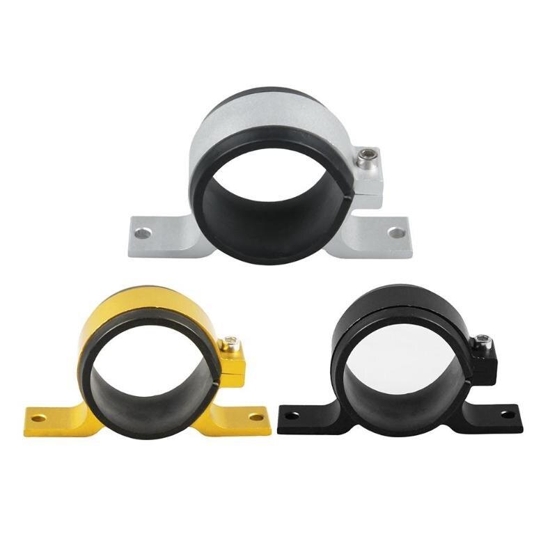 Aluminium Legierung 60mm Kraftstoff Pumpe Montage Halterung Einzigen Filter Clamp Cradle Seien Sie In Geldangelegenheiten Schlau