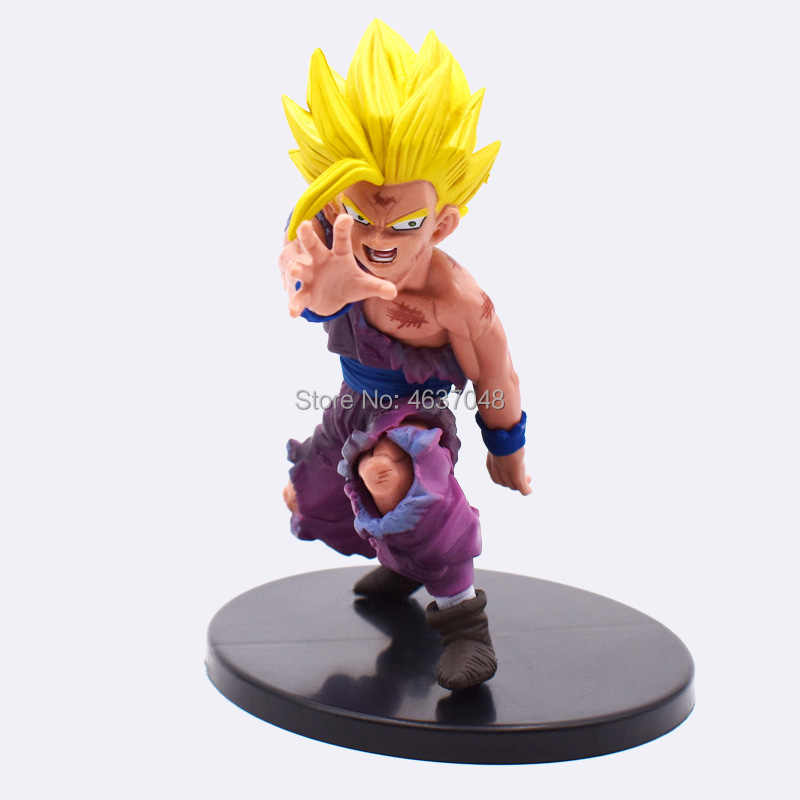 Dragon Ball Z Beeldje Vegeta Trunks Goku Zoon Gohan Mobiele Frieza Lunchi NUL Majin Buu Action Figures Collectible Speelgoed 11 -23cm